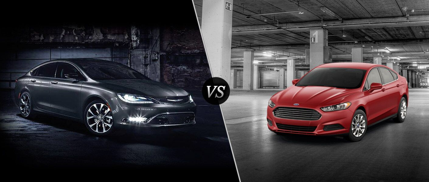 2016 Chrysler 200 vs 2016 Ford Fusion