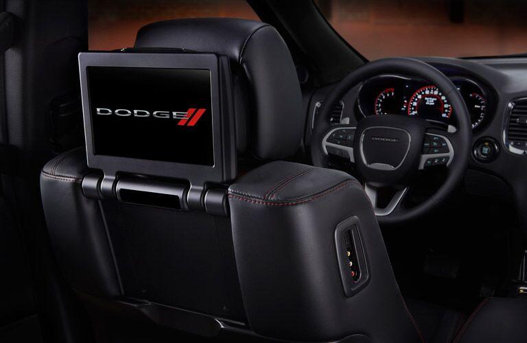 2016 Durango rear seat entertainment