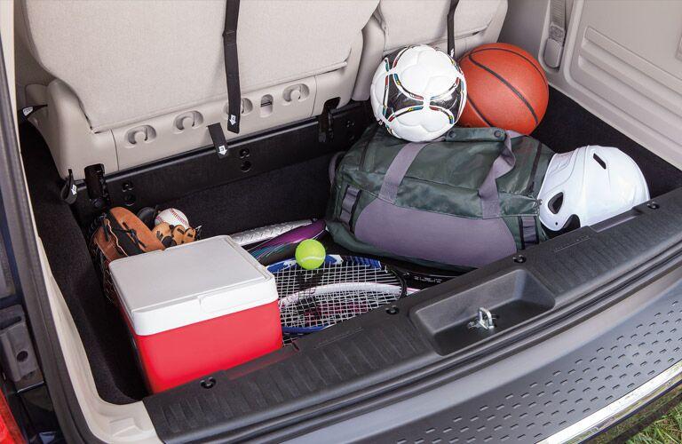 2016 Dodge Grand Caravan Cargo Space