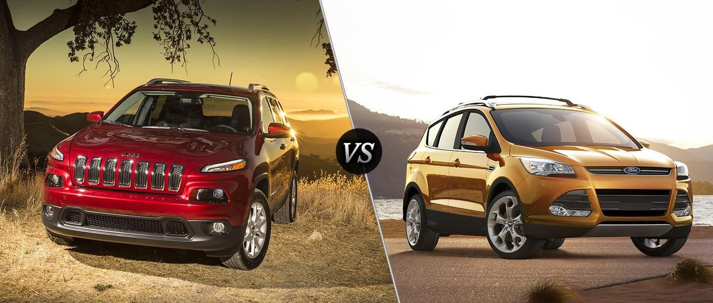 2016 Jeep Cherokee vs Ford Escape