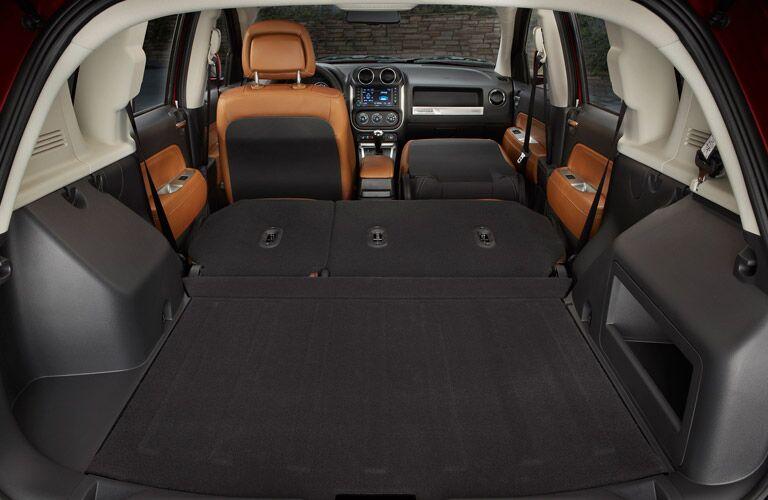 2016 Jeep Compass 60/40 split folding rear seats Parks Motors Wichita KS