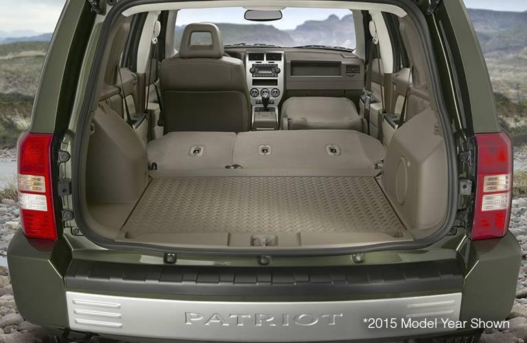 2016 Jeep Patriot Cargo Space