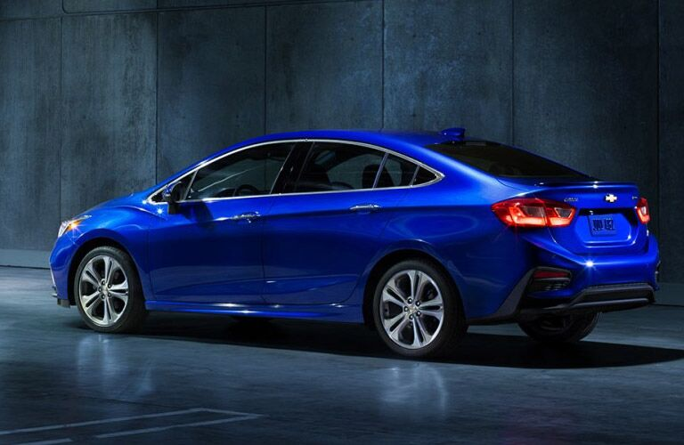 2016 Chevy Cruze color options Parks Motors Wichita Augusta, KS