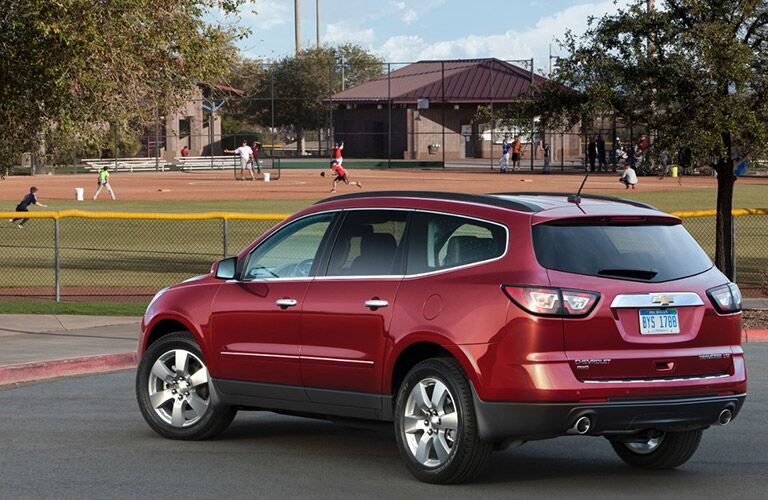 Chevy Family vehicles 2016 Traverse
