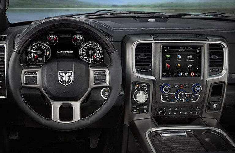 2016 Ram 1500 interior Parks Motors Wichita Augusta, KS