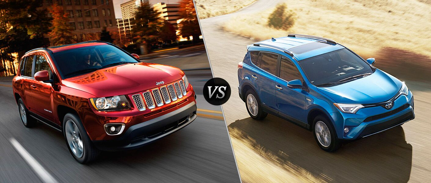 2016 Jeep Compass vs 2016 Toyota Rav4
