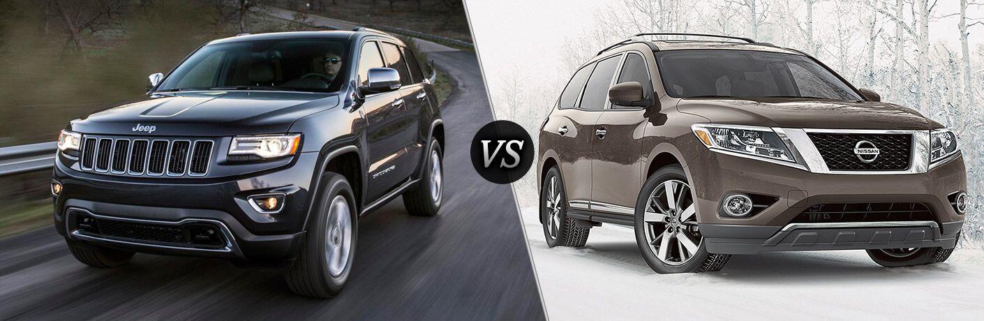 2016 Jeep Grand Cherokee vs 2016 Nissan Pathfinder