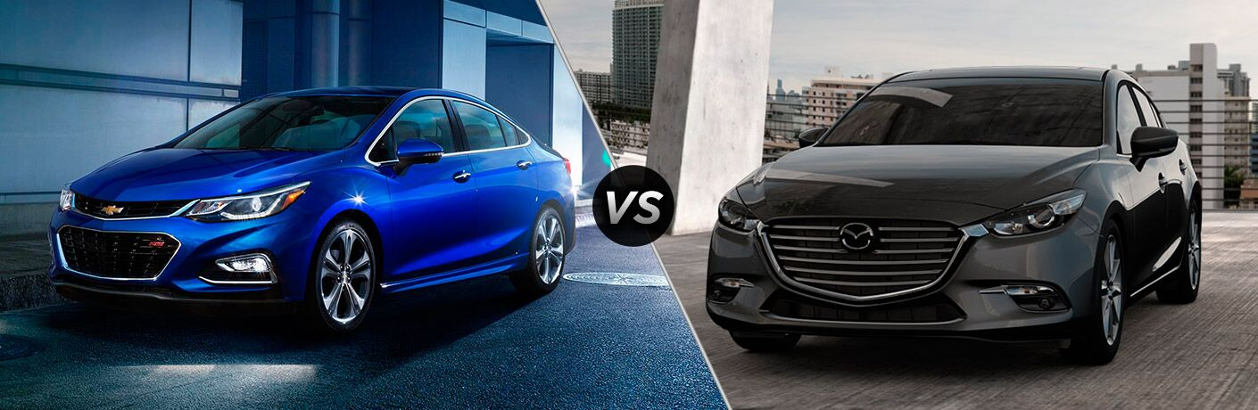 2017 Chevy Cruze vs 2017 Mazda3