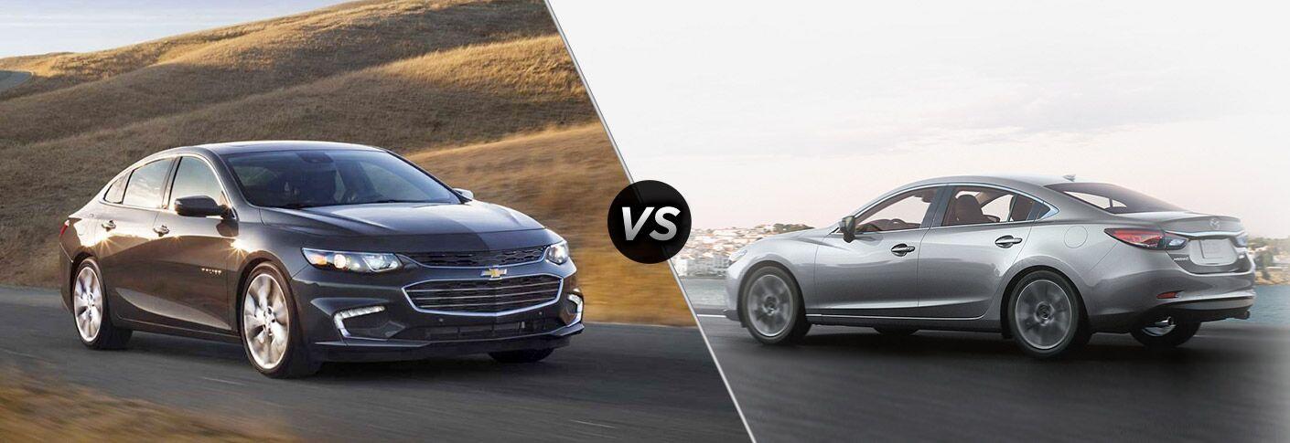2017 Chevy Malibu vs 2017 Mazda6