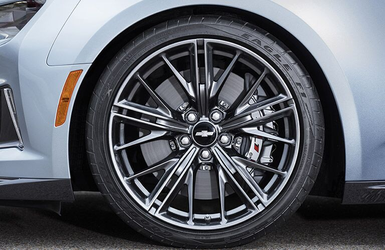 "2017 Camaro ZL1 20"" forged aluminum wheels"