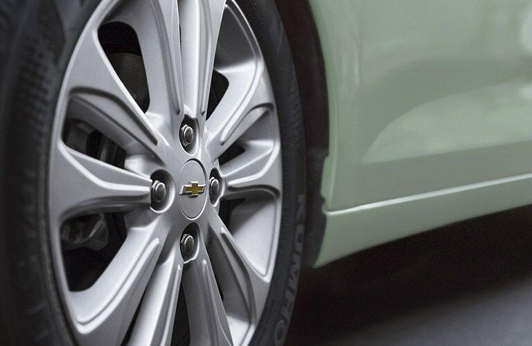 2017 Chevy Spark wheel design
