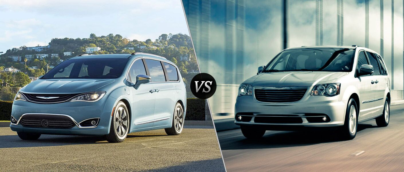 2017 Pacifica vs 2016 Town & country
