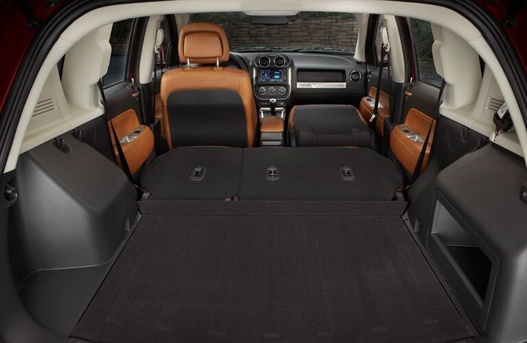 2017 Jeep Compass cargo space