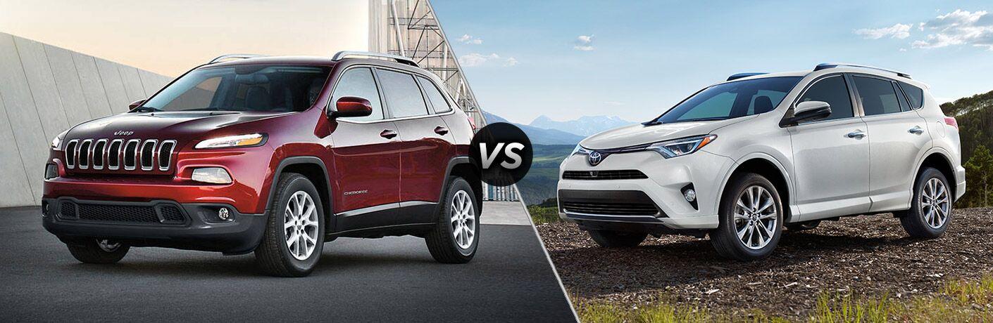 2017 Jeep Cherokee vs 2017 Toyota RAV4