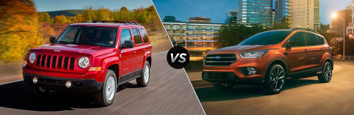 2017 Jeep Patriot vs 2017 Ford Escape