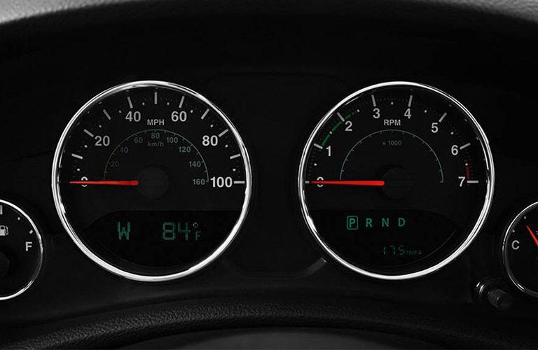 2017 jeep wrangler unlimited instrument cluster