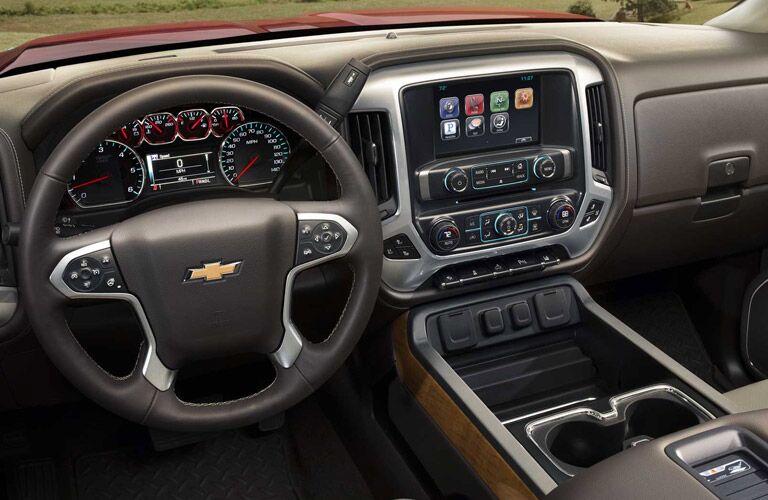 2017 Chevy Silverado 2500HD dashboard layout