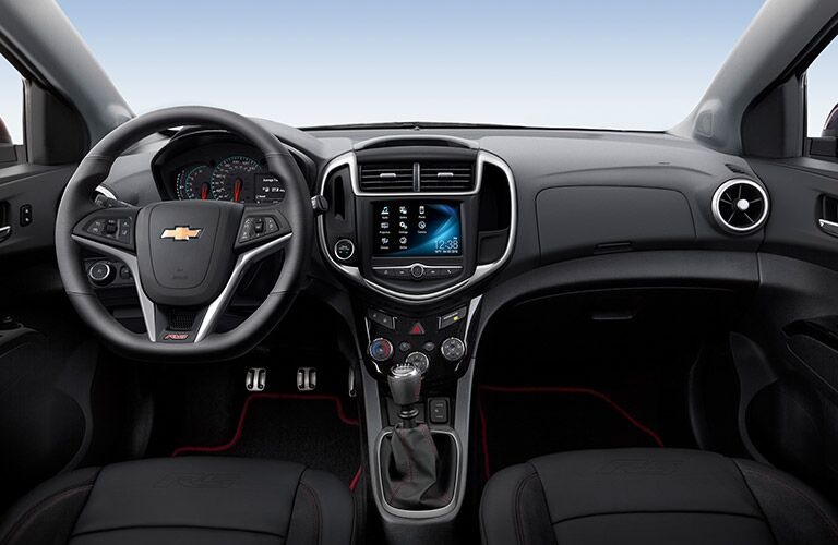2017 chevy sonic dashboard design and layout