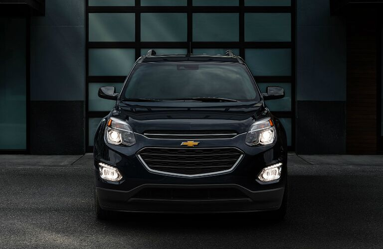 illuminated headlights on the 2017 chevy equinox