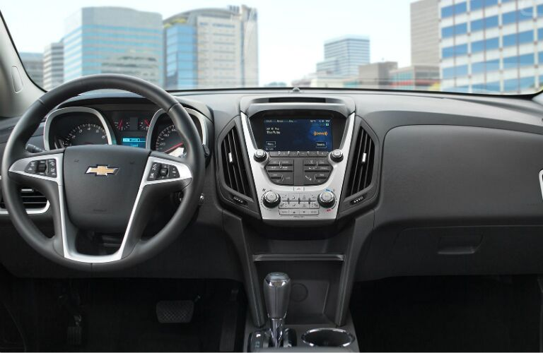2017 chevy equinox dashboard design