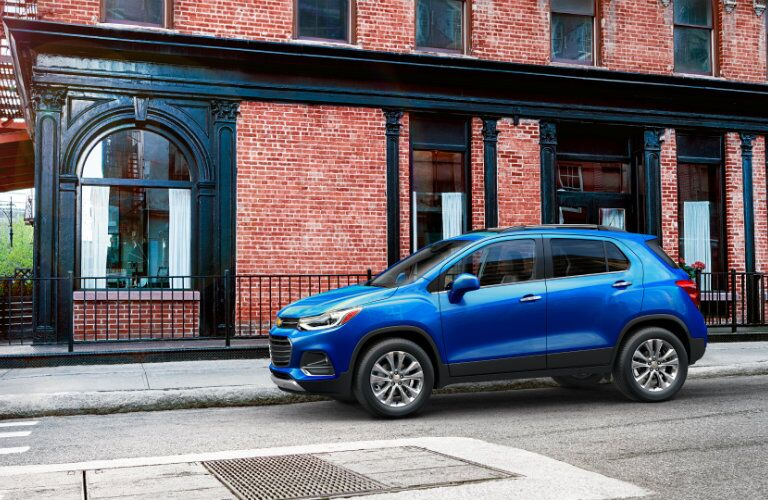 2017 Chevy Trax safety features