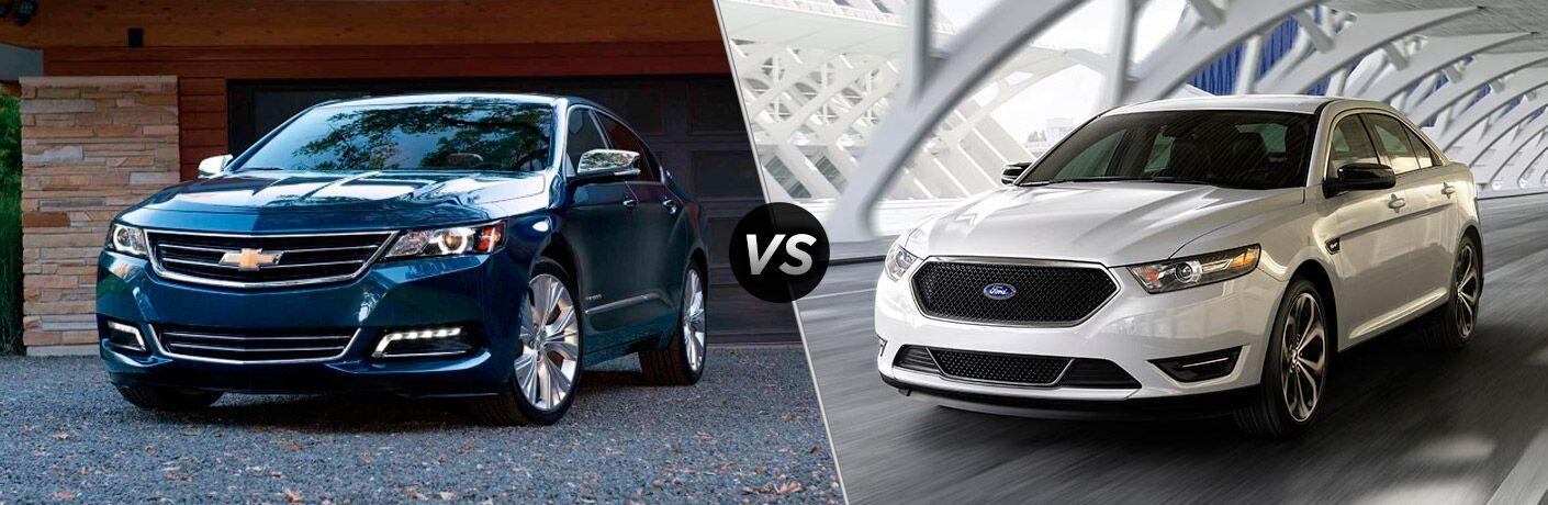 2017 Chevy Impala vs 2017 Ford Taurus