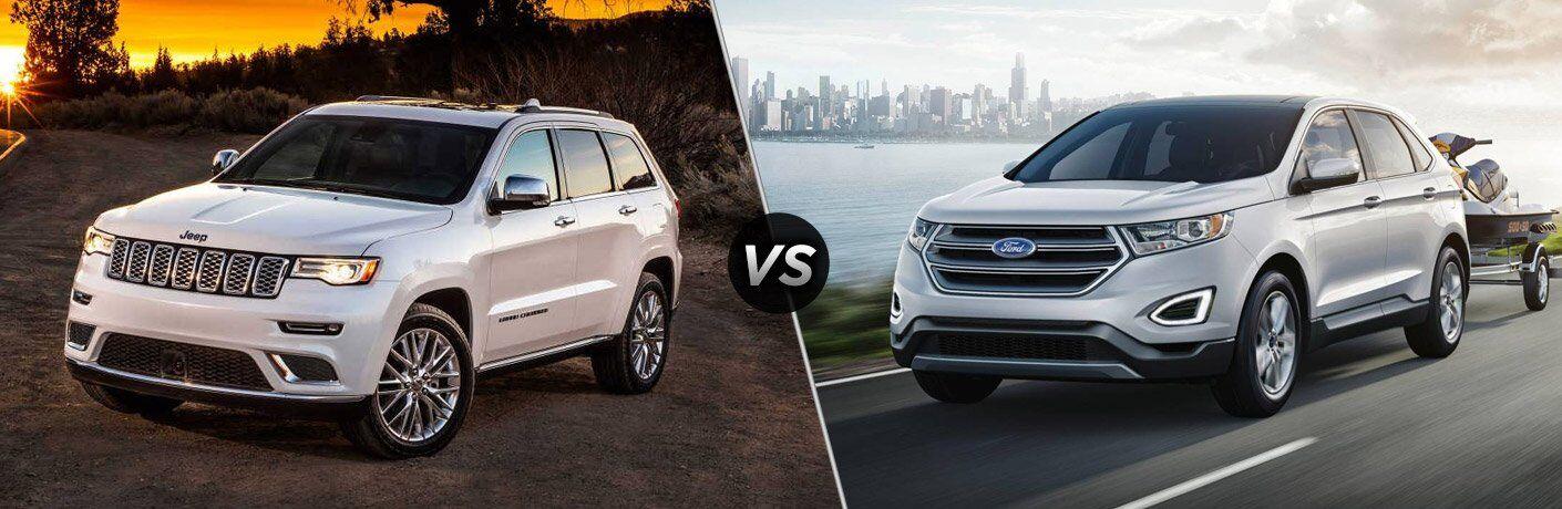 2017 Jeep Grand Cherokee vs 2017 Ford Edge