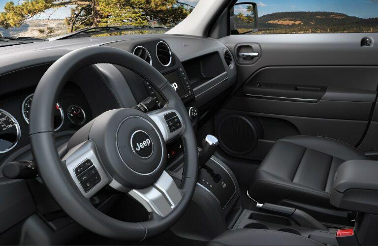 2017 jeep patriot steering wheel design