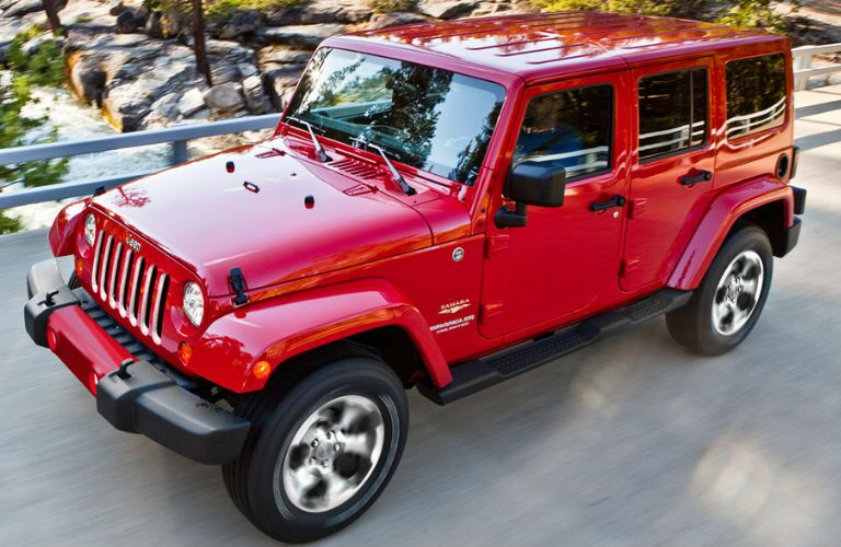 2017 Jeep Wrangler Unlimited Red Exterior