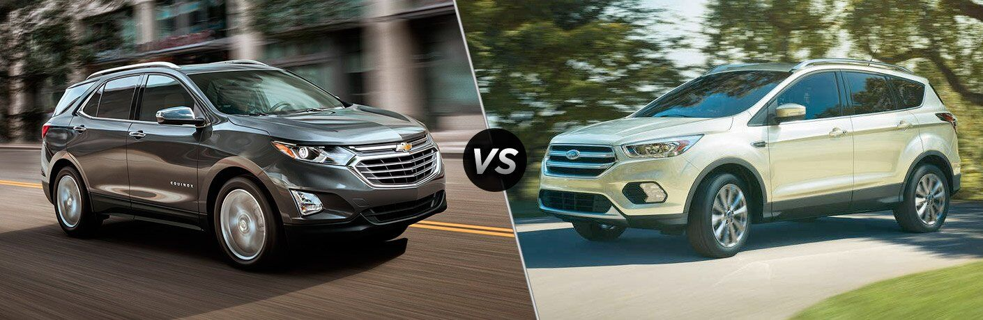 2018 Chevrolet Equinox vs 2017 Ford Escape