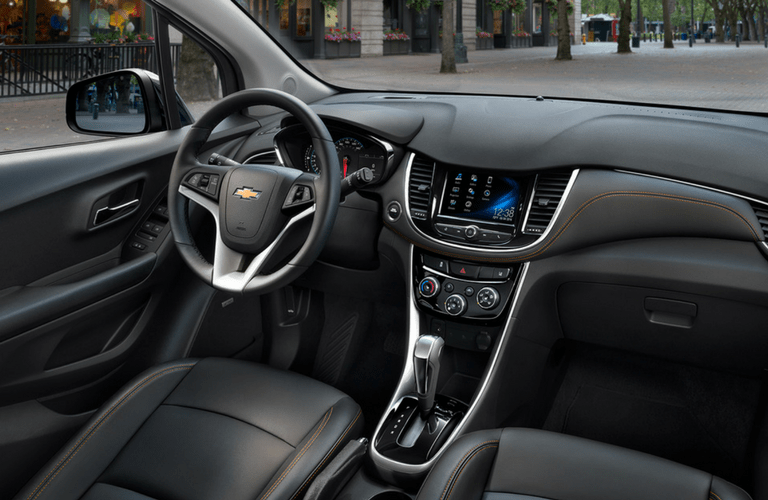 2017 chevy trax with touchscreen