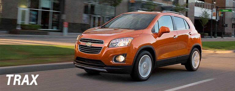 2016 Chevy Trax Parks Chevrolet