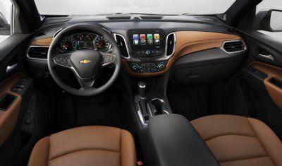 2018 Chevy Equinox Exterior & Interior Color Options