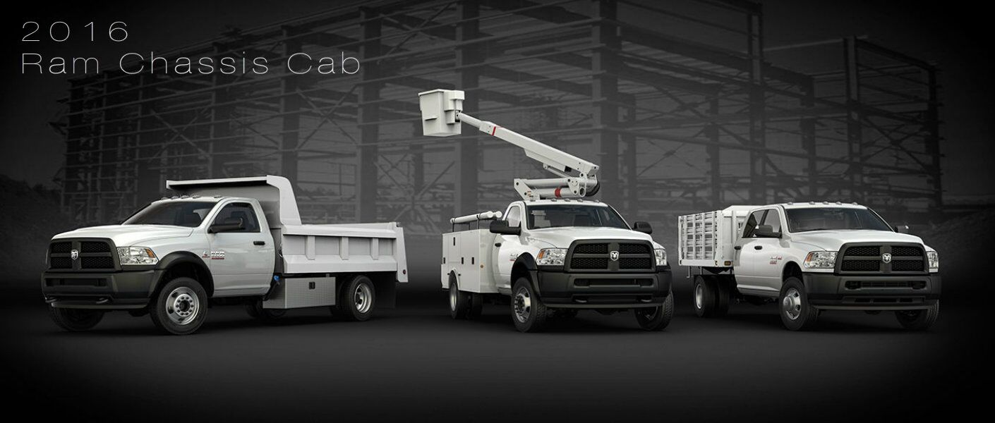 2016 Ram Chassis Cab upfit options