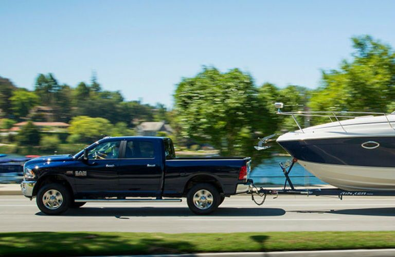 Ram 3500HD towing capacity