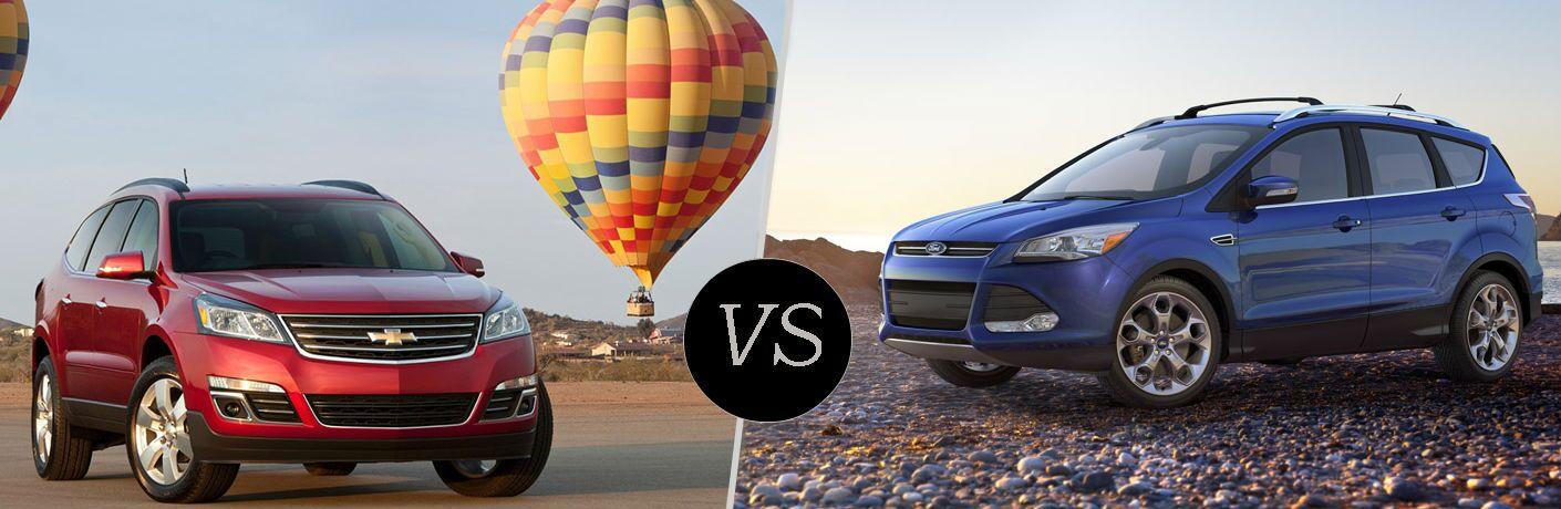 2016 Chevy Traverse vs 2016 Ford Escape