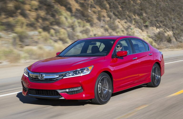 2017 Honda Accord Sport Special Edition Red Color Option