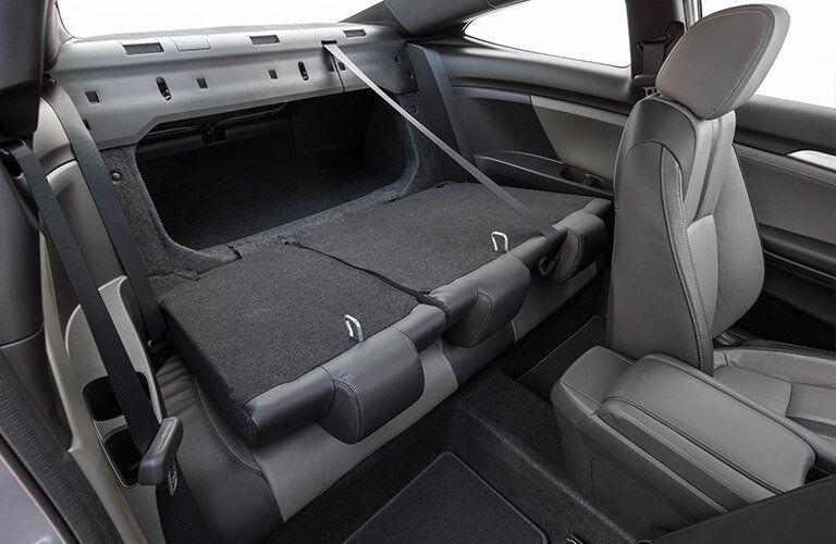 2017 honda civic interior rear seat folded down cargo area