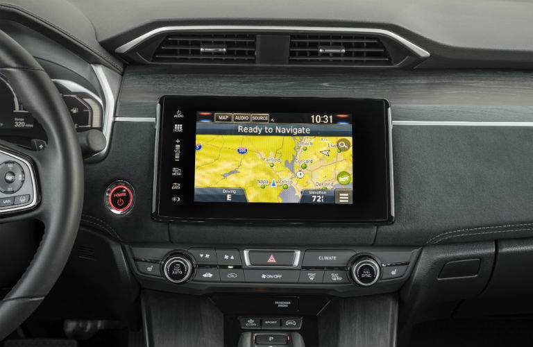 Color touchscreen of the 2018 Honda Clarity Plug-In Hybrid