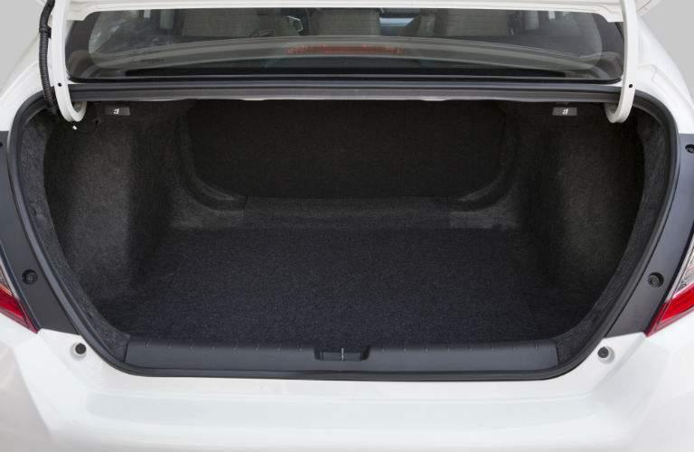 Trunk space of the 2018 Honda Civic Sedan
