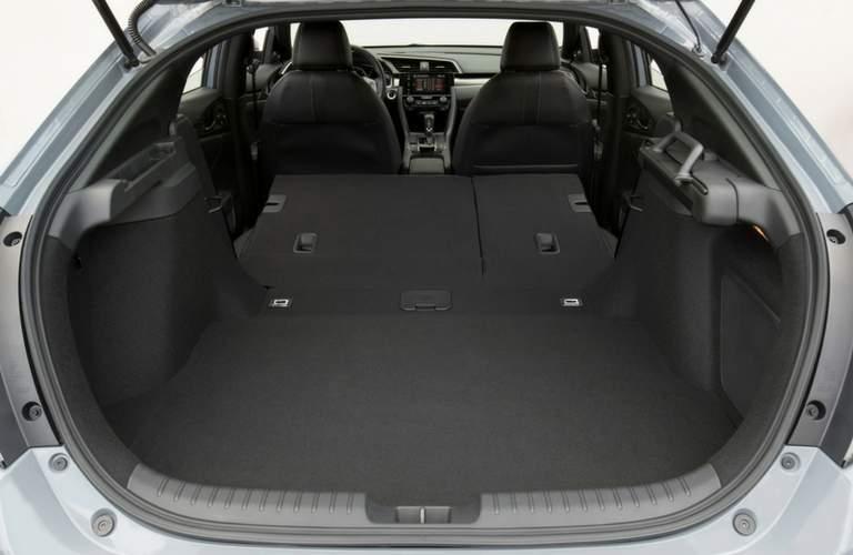2018 Honda Civic Hatchback rear cargo area