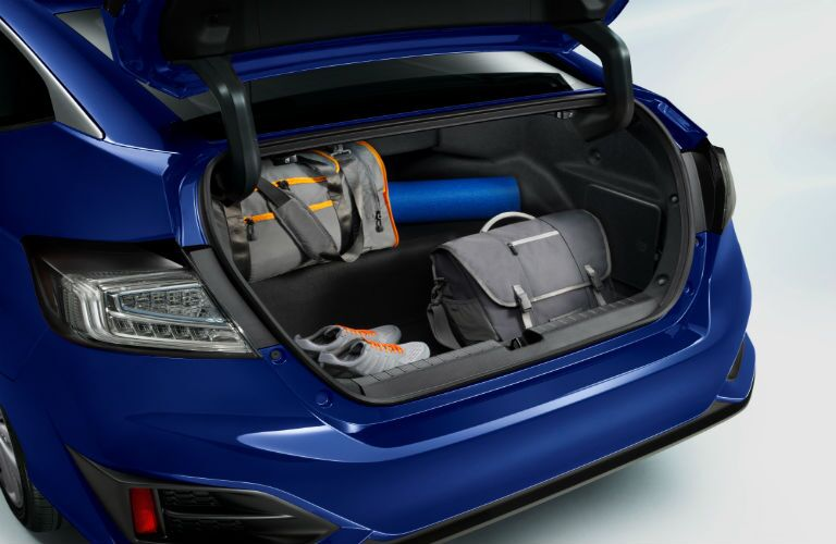 inside the trunk of a 2019 Honda Clarity Electric