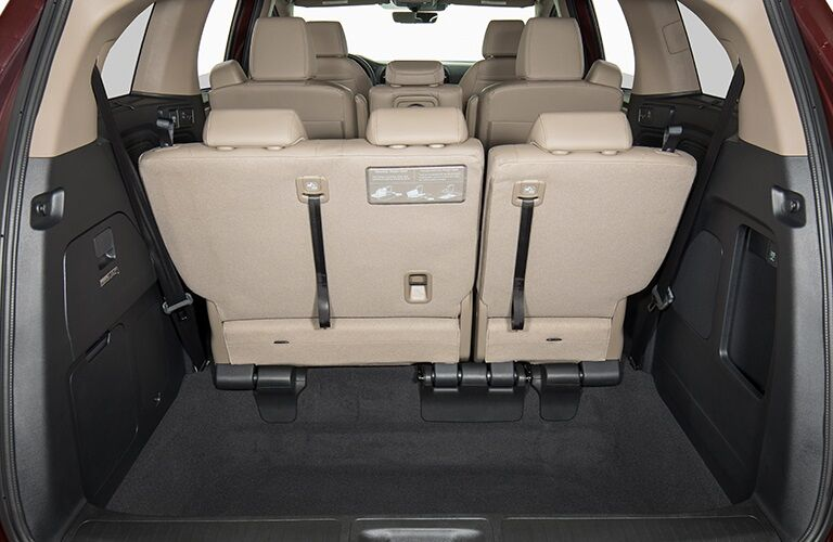 Cargo space in the 2019 Honda Odyssey