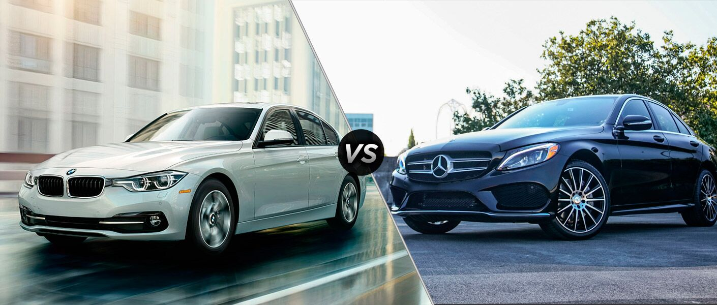 2016 BMW 3 Series vs. the 2016 Mercedes-Benz C-Class comparison