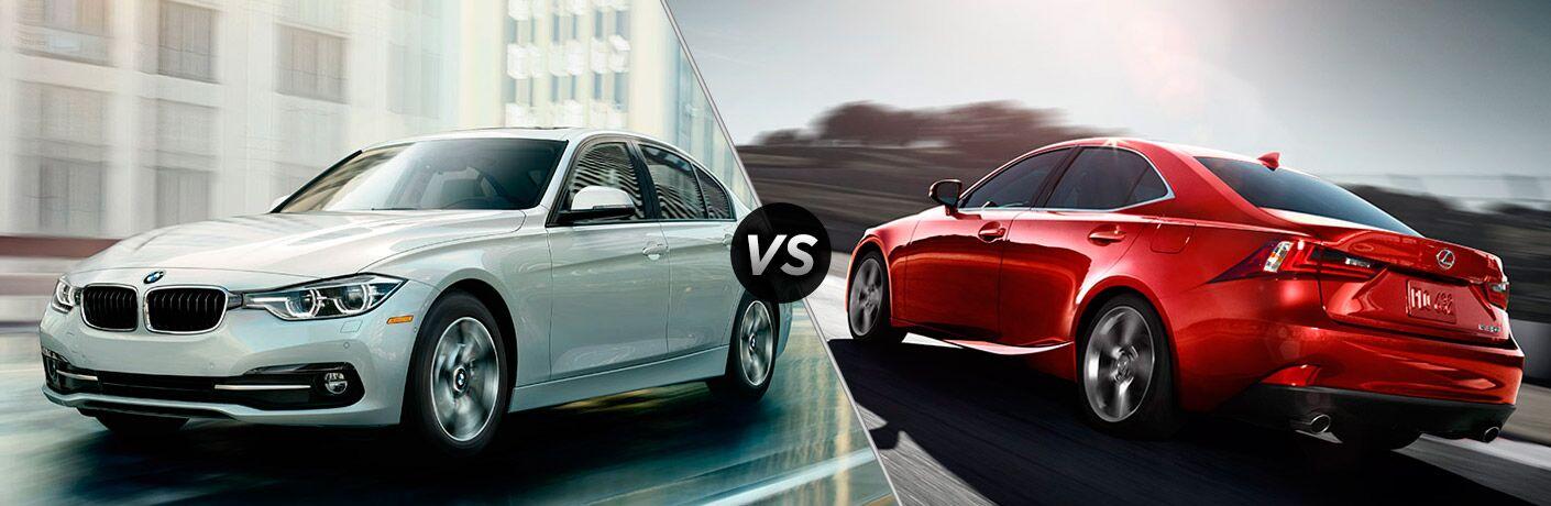 2016 BMW 3 Series vs 2016 Lexus IS