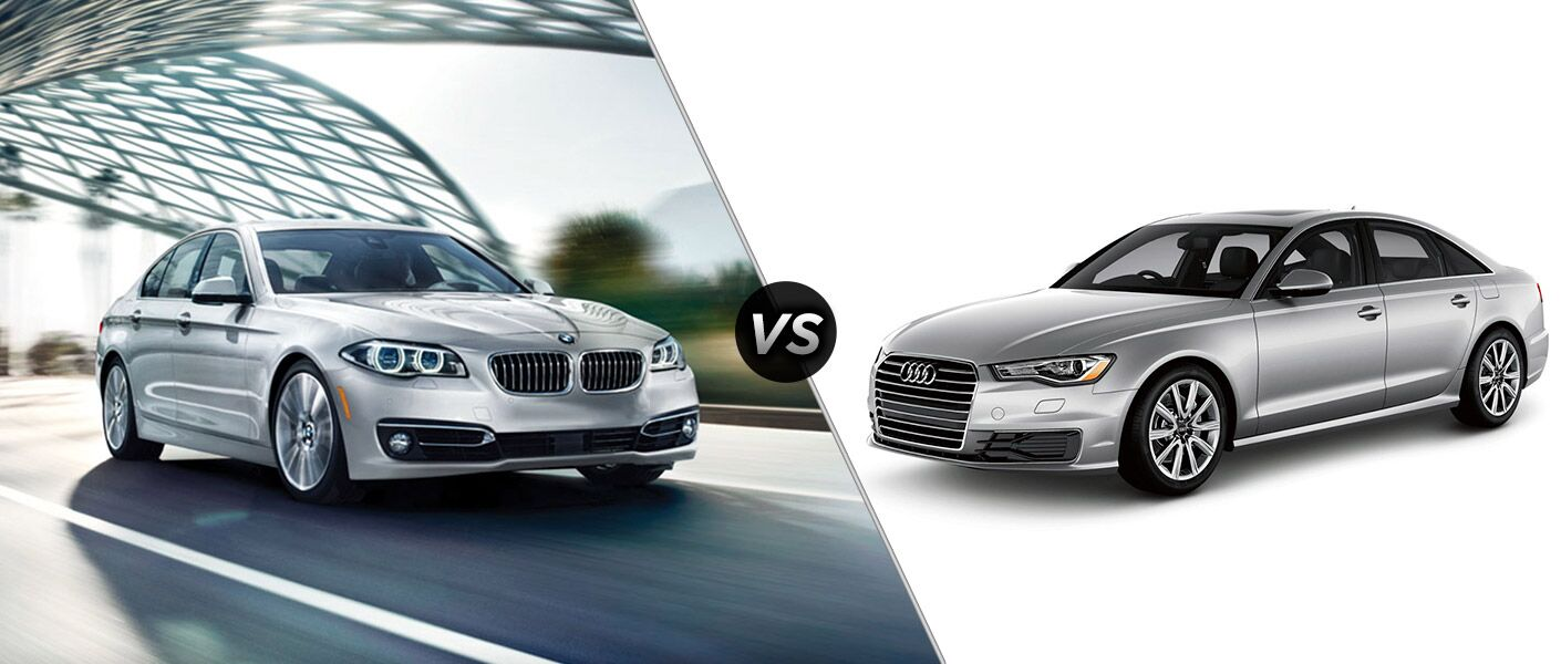 2016 BMW 5 Series vs 2016 Audi A6
