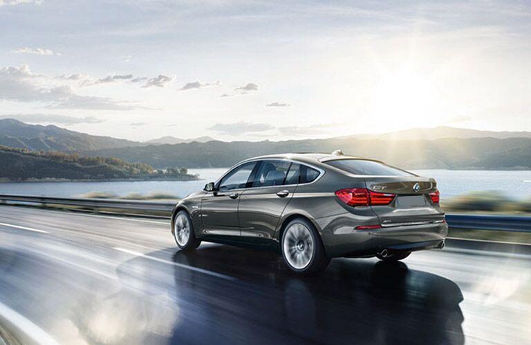 2016 BMW 5 Series rear view