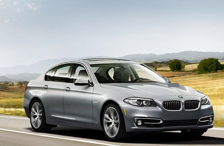 2016 BMW 5 Series confident on the road