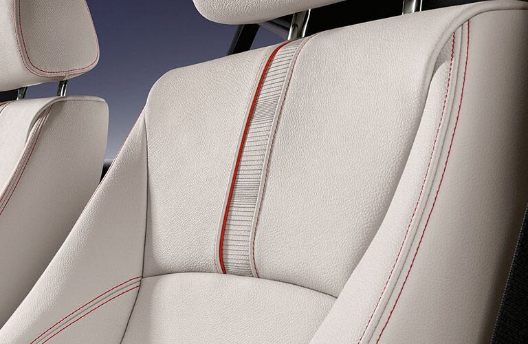Premium seating on the 2016 BMW X4