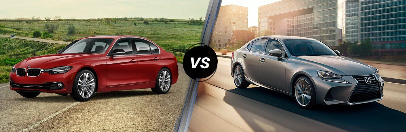 2017 BMW 3 Series vs 2017 Lexus IS